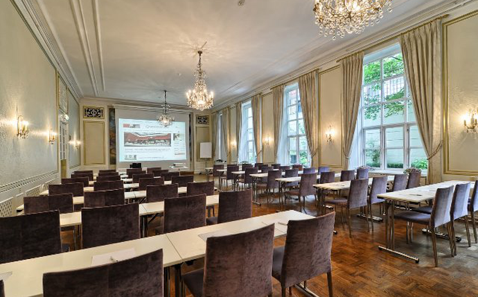 14 møte – og konferanselokaler i ulik størrelse og utforming.
