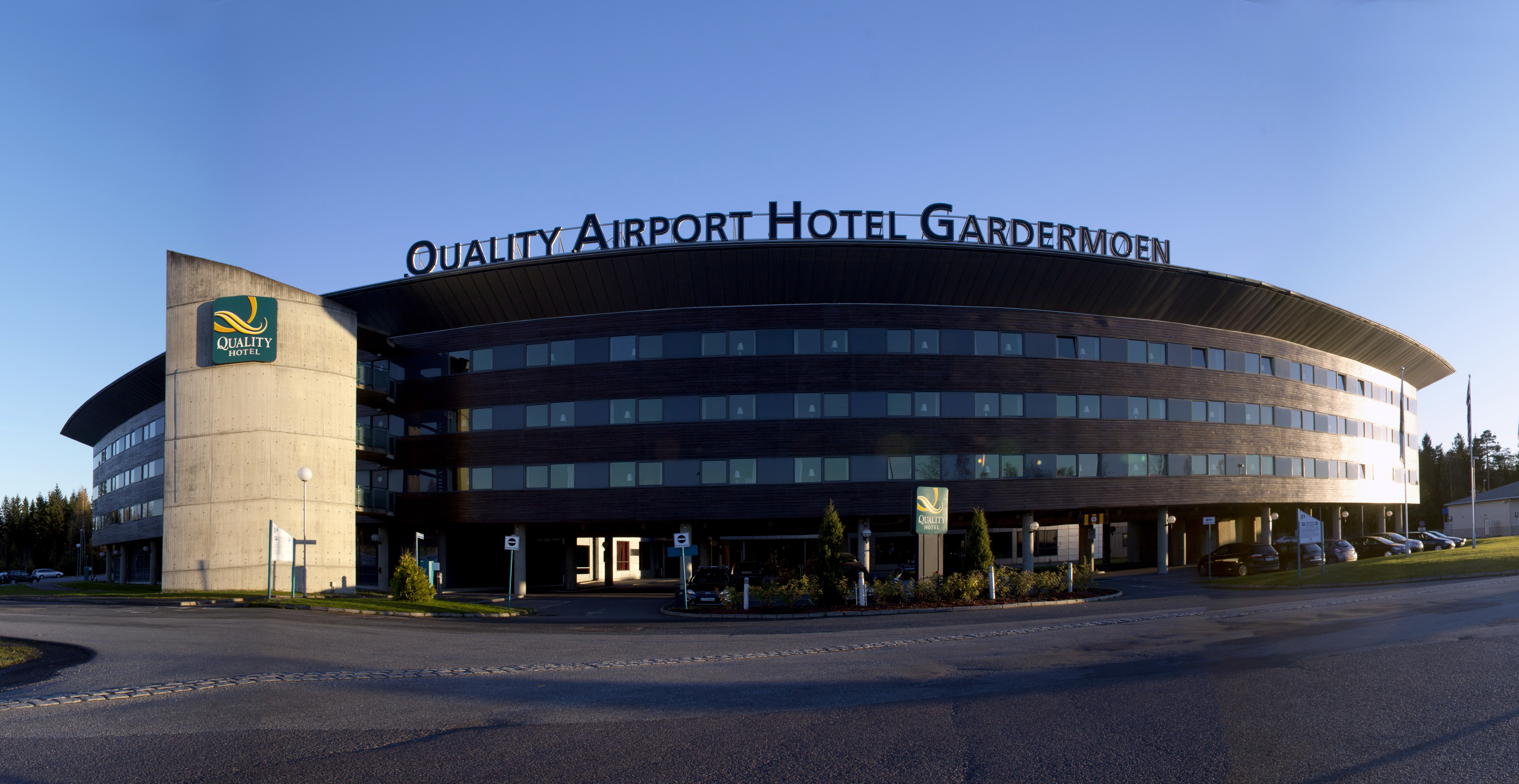 QUALITY AIRPORT HOTEL GARDERMOEN (Norge) Hotell
