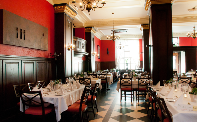 Brasseriet - hvor det serveres lunsj og frokost