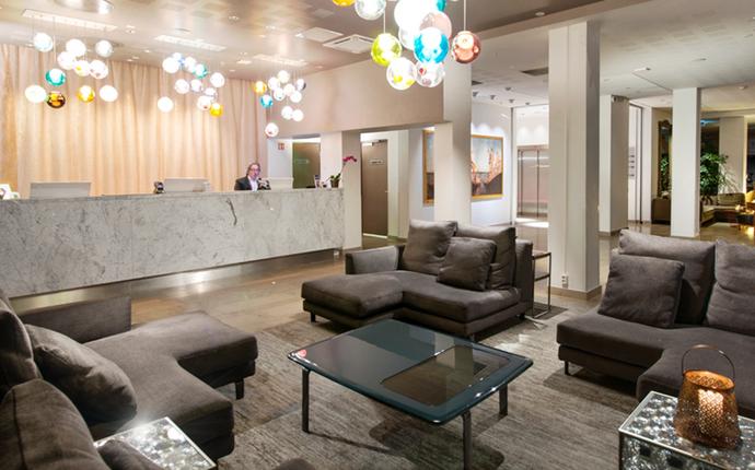 Clarion Hotel Admiral - Resepsjon