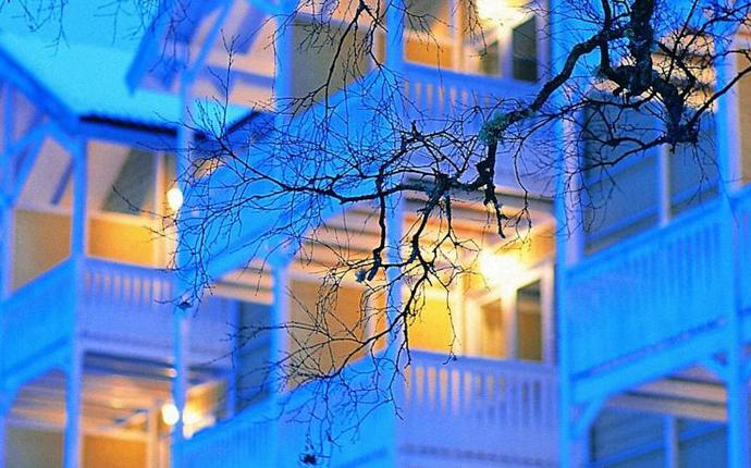 Hankø Hotell & Spa - Hankø i vinterstemning