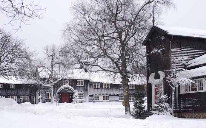 Lysebu - Vinter på Lysebu