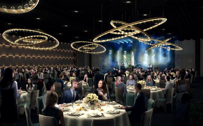 Clarion Hotel The Hub åpner 1. mars 2019! - Bankett