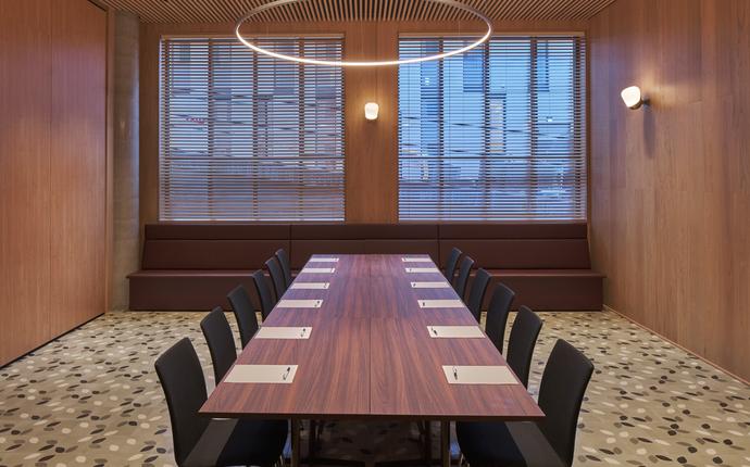 Hotel Zander K - Møtelokalet kan deles inn i tre mindre rom.