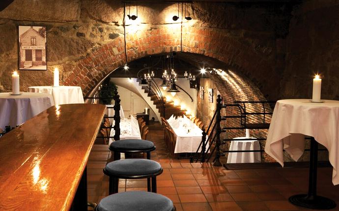 Wallmans Oslo - Vårt chambre separée har egen bar og tar opp til 100 gjester.
