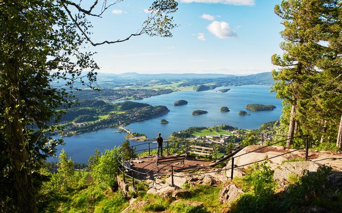 Kleivstua - Møtestedet på Krokskogen - Kongens utsikt, kun 1,5 km fra hotellet