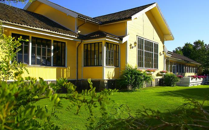 Hankø Hotell & Spa - Hotellet i sommerdrakt