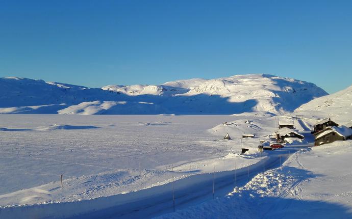 Haukeliseter fjellstue - Vinter på Hauekliseter