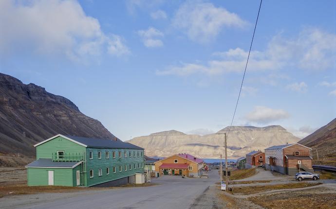 Coal Miners' Cabins