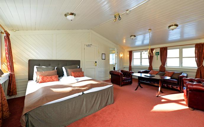 Kronen Gaard Hotell - Hotellrom
