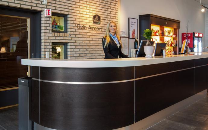 Best Western Oslo Airport Hotell - Resepsjon