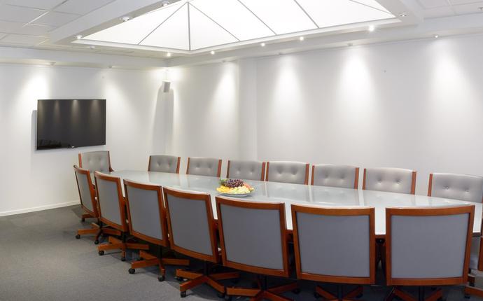 Styrerom med kapasitet for inntil 16 personer - Det riktige rommet for viktige avgjørelser