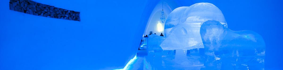 Snøhotellet, Hunderfossen Vinterpark