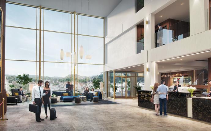 Mandal Hotell - åpner 2. mai 2019 - Lobby