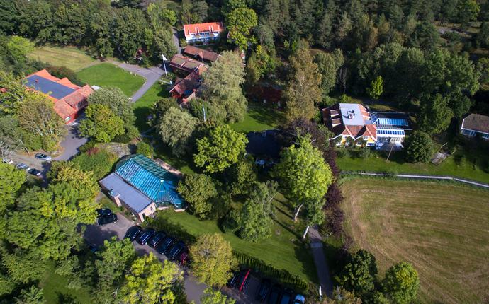 Engø Gård Hotel & Restaurant - Oversiktsbilde av området