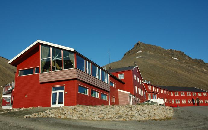 Funken Lodge - Utside