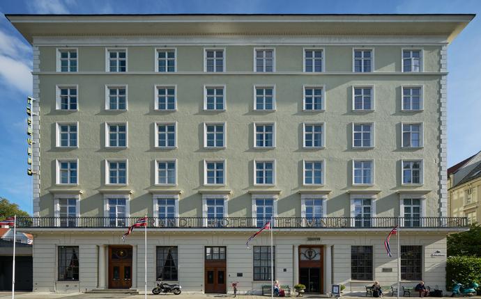 Grand Terminus - Velkommen til Bergens første luksushotell som åpnet i 1928.