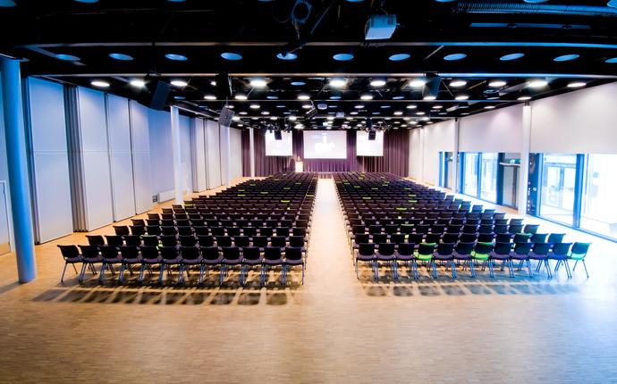 Meet Ullevaal - Meet salen - plass til 750 i kino