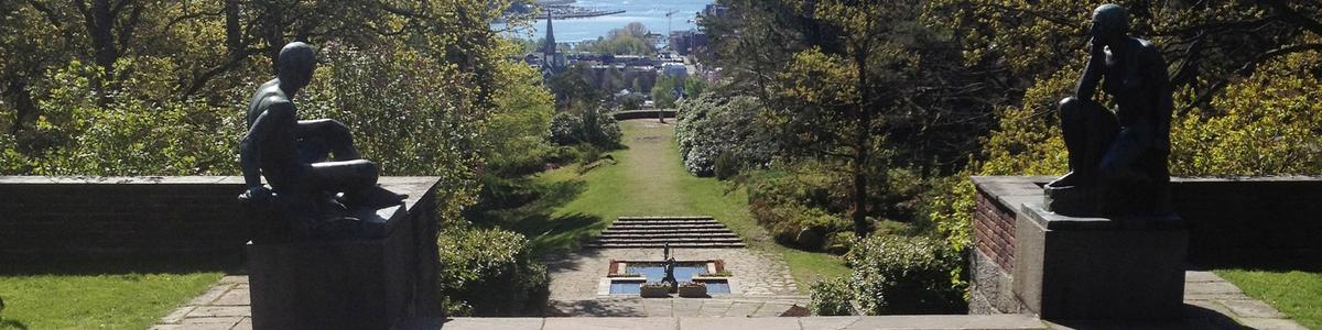 Utsikt fra Villa Midtåsen