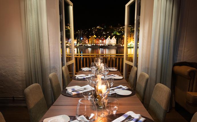 Clarion Hotel Admiral - Utsikt fra Kitchen & Table