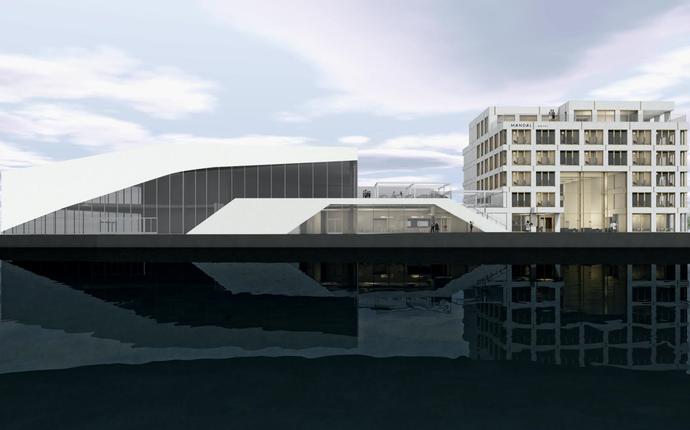 Mandal Hotell - Fasade