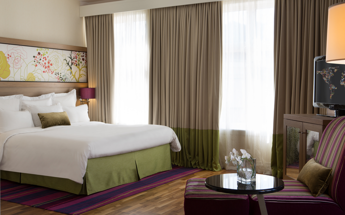 Renaissance Malmo Hotel - Bedroom.
