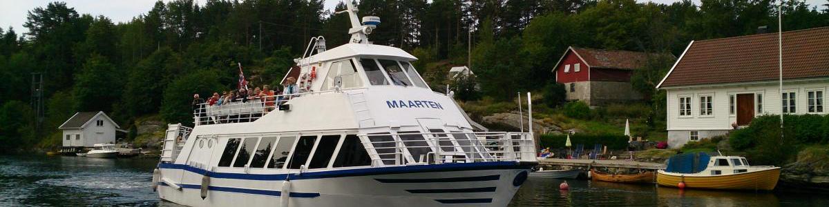 Skjærgårdstur med charterbåten Maarten