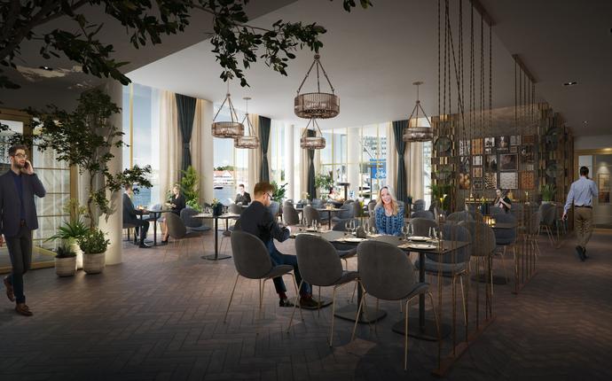 Mandal Hotell - åpner 2. mai 2019 - Restaurant