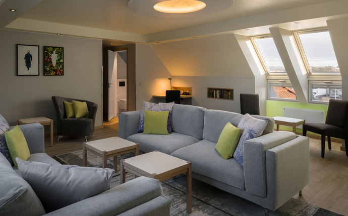 Stuen i nye suiten