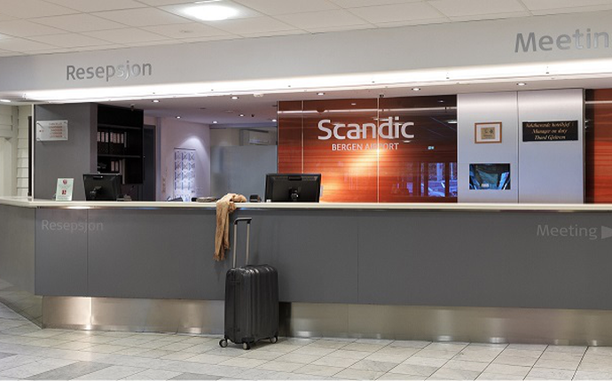 Scandic Bergen Airport - Lobby