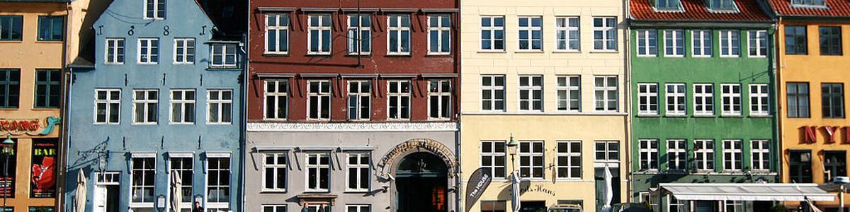 Fargerike Nyhavn