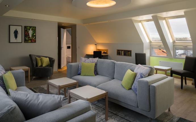 Quality Hotel Olavsgaard - Stuen i nye suiten