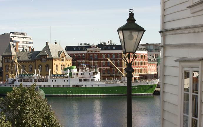 Best Western Plus Victoria Hotel ligger til ved vågen i Stavanger
