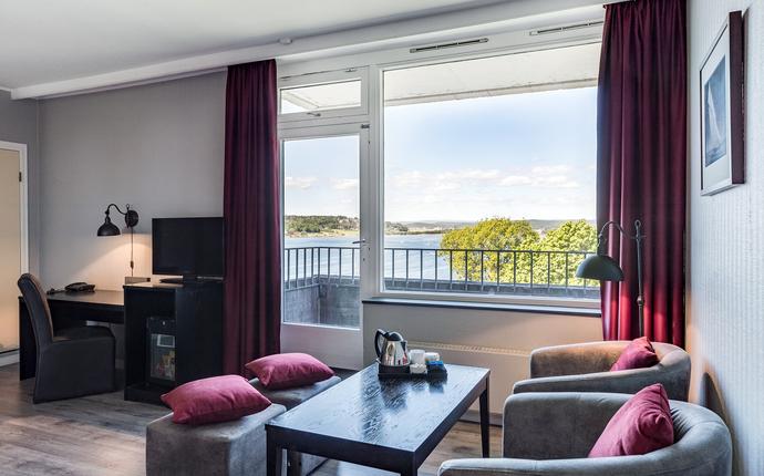 Hotel Klubben - Superior rom med balkong