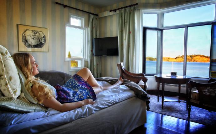 Hotel Wassilioff - Rom med utsikt
