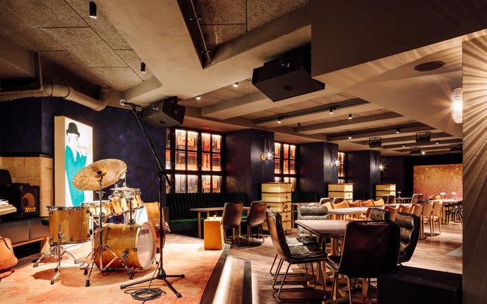 Amerikalinjen - Gustav Jazzbar, lunch/middag & eventlokale