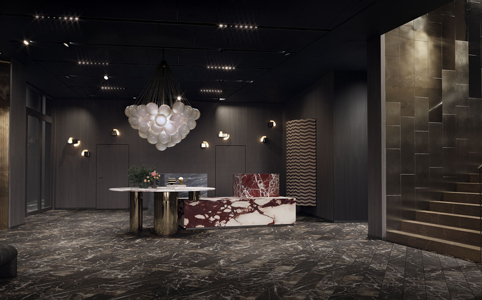 Clarion Hotel Oslo -  Opening Summer 2019 - Clarion Hotel Oslo - Reception