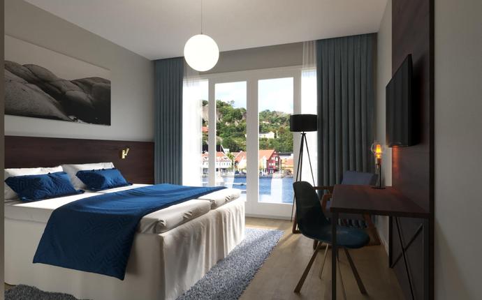 Mandal Hotell - åpner 2. mai 2019 - Rom