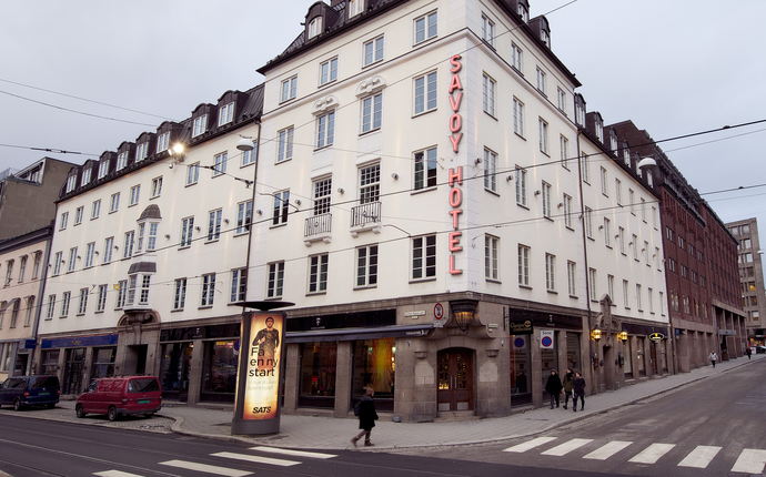 Clarion Collection Hotel Savoy - Fasade