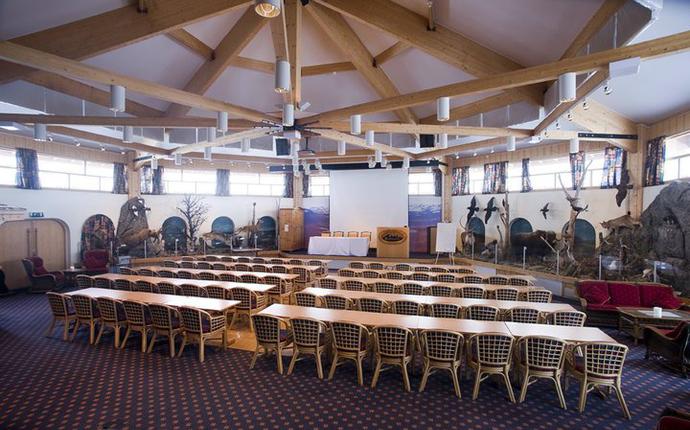Spidsbergseter Resort Rondane - Konferanserom Rondesalen. Foto:Per Eide