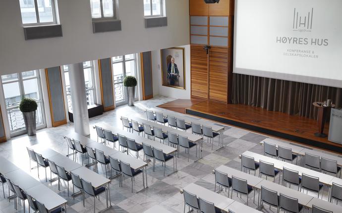 Høyres Hus Konferanse & Selskapslokaler - Ordførersalen