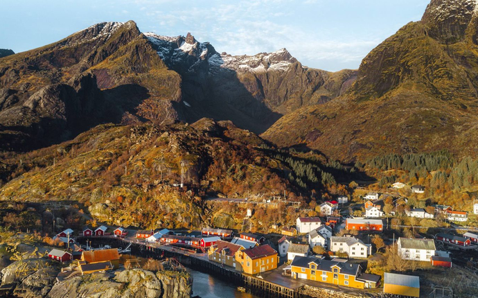 Nusfjord Arctic Resort - Nusfjord i Lofoten