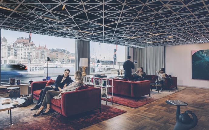 Radisson Blu Strand Hotel - Lobby