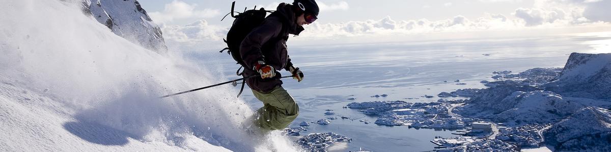 Skitur i Lofoten