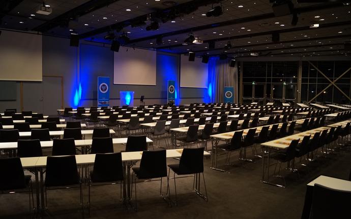 Quality Hotel Expo, Fornebu - Exposalen klasseromsoppsett