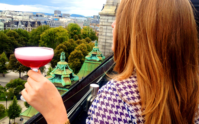 Grand Hotel Oslo - Eight Rooftop Bar