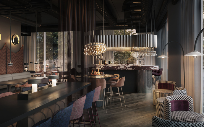 Clarion Hotel Oslo -  Opening Summer 2019 - Restaurant Kitchen&Table