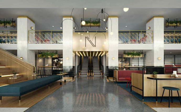 Hotel Norge by Scandic - Lobby