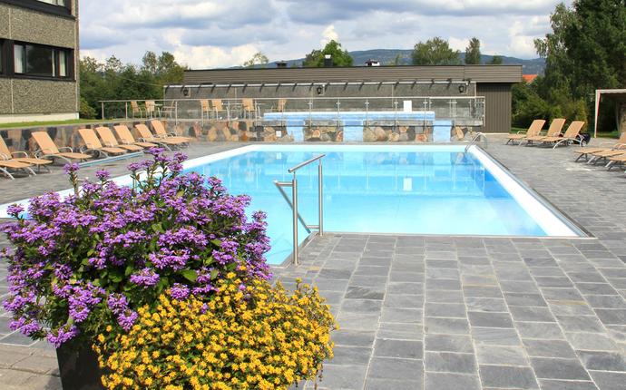 Bø Hotell - Utendørs basseng