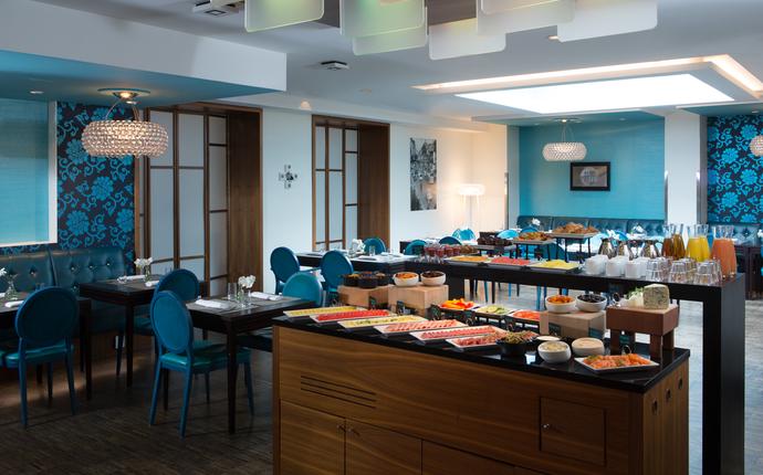 Renaissance Malmo Hotel - Full American breakfast buffet.